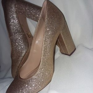 °Gianni Bini Gold Heels°